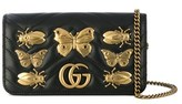 Gucci Women's Black Leather Shoulder Bag.