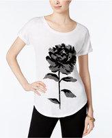 Lucky Brand Flower Graphic T-Shirt