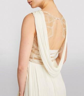 Maria Lucia Hohan Cowl-Back Lynda Gown
