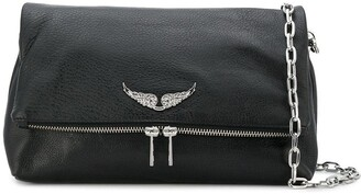 Zadig & Voltaire Logo Plaque Crossbody Bag