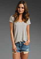 Soft Joie Bradee Nautical Stripe Tee