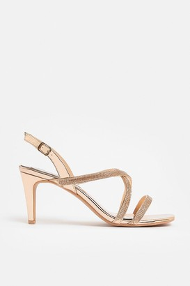 Coast Cross Strap Diamante Sandal