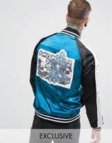Reclaimed Vintage Souvenir Jacket With Back Patch