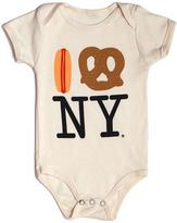 Piccolini NYC Hot Dog Pretzel Ny Onesie