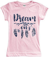 Urban Smalls Light Pink 'Dream On' Fitted Tee - Toddler & Girls