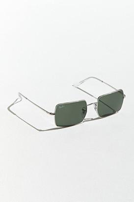 Ray-Ban I-Shape Metal Rectangle Sunglasses