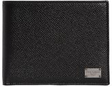 Dolce & Gabbana Dauphine Leather Coin Pocket Wallet