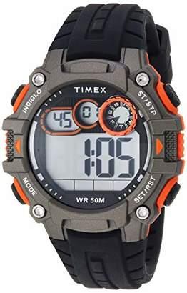 Timex Men's TW5M27200 DGTL Big Digit 48mm Silicone Strap Watch