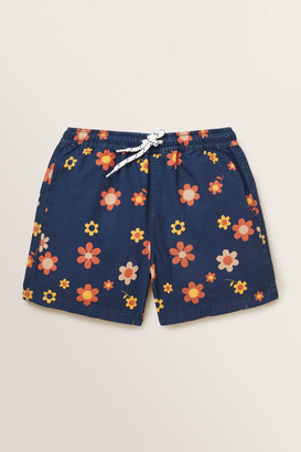 Seed Heritage Retro Floral Boardshort