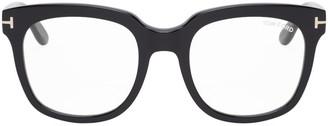 Tom Ford Black Oversized Square Glasses
