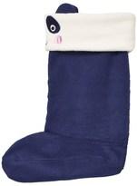 Joules Navy Panda Fleece Welly Socks