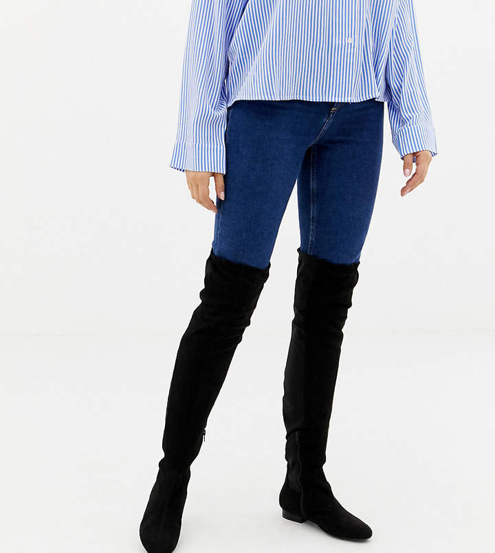 9b172e866e5 Asos Over The Knee Boots For Women - ShopStyle UK