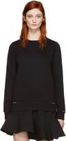 Valentino Black Rockstud Untitled Pullover