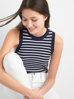 Gap Stripe crewneck tank