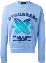 DSQUARED2 Honolulu Shaper of Boards sweatshirt - men - Cotton - 46
