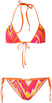 M Missoni printed bikini set - women - Polyamide/Spandex/Elastane - 40