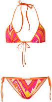 M Missoni printed bikini set