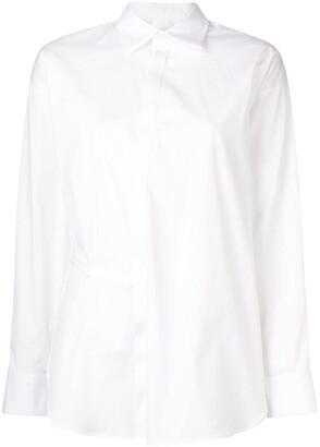 DSQUARED2 plain asymmetric shirt
