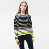 Paul Smith Women's Mixed-Stripe Lambswool Sweater