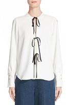 Rachel Comey Women's Meryl Tie Front Blouse