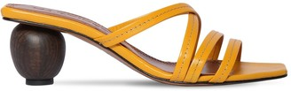 Souliers Martinez 55mm Leather Sandals