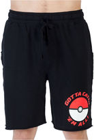 Pokemon Pokmon Pokball Knit Pajama Shorts