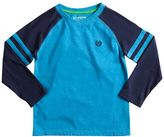 Chaps Toddler Boy Long Sleeve Raglan Crewneck Tee