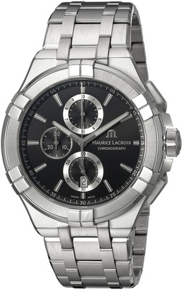 Maurice Lacroix Men's Aikon Quartz Watch with Stainless-Steel Strap