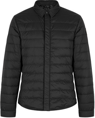 Canada Goose Black Label Jackson black quilted jacket