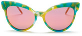 Wildfox Couture Women's Grand Dame Deluxe Cat Eye Sunglasses