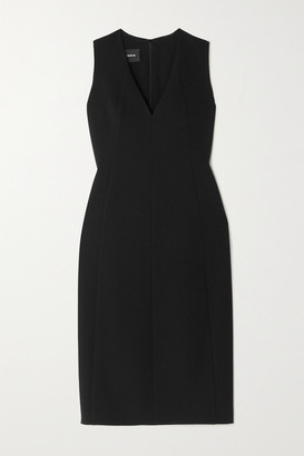 Akris Wool-blend Crepe Dress - Black