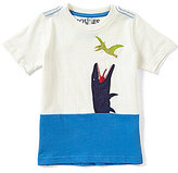 Joules Little Boys 3-6 Archie Dinosaur-Applique Short-Sleeve Top