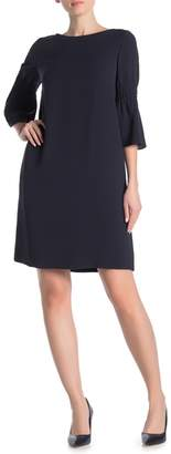 Lafayette 148 New York Loreiele Elbow Sleeve Shift Dress