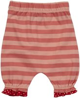 Little Green Radicals Bloomers (Baby) - Coral Stripes-3-6 Months