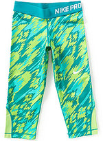 Nike Big Girls 7-16 Dri-FIT Active Capri Leggings