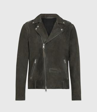AllSaints Jadon Suede Biker Jacket