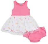 Splendid Girls' Butterfly Dress & Bloomers Set - Baby