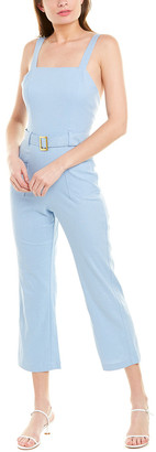 ELLEJAY Holly Linen-Blend Jumpsuit