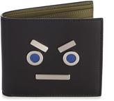 Fendi No Words bi-fold leather wallet