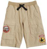 Diesel Cotton Poplin Cargo Shorts