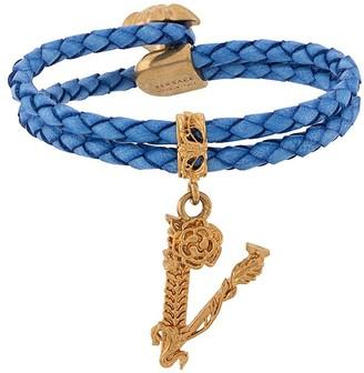 Versace Virtus braided bracelet