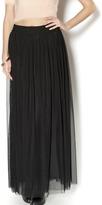 Kikiriki Black Tulle Maxi Skirt