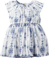 Carter's Flutter-Sleeve Printed Dress - Baby Girls newborn-24m