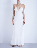 La Perla Maison stretch-silk nightgown