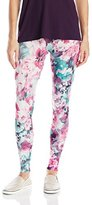 Carnival Women's Full-Length Printed Soft Microfiber Legging