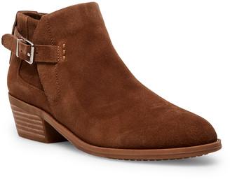 Steve Madden Women's Casual boots COG - Cognac Satie Suede Bootie - Women