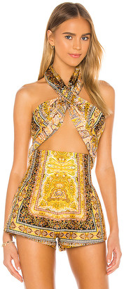 Bronx and Banco Runway Bedouin Crop Top