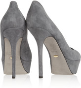 Sergio Rossi Royal suede pumps