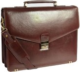 House of Leather Gents Exclusive BRIEFCASE Real Leather High Quality Satchel Office Bag Cyrus