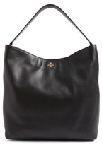 Tory Burch Frida Leather Hobo - Black